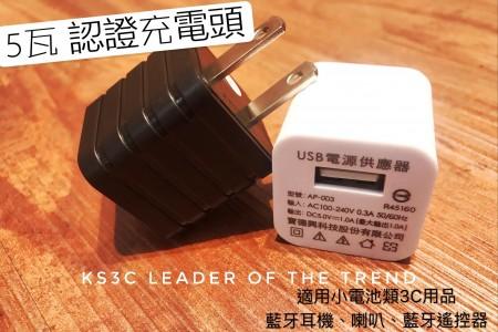 【599免運】Gamax 單孔 1A 5W 電源供應器 旅充頭 充電器 充電頭 豆腐頭 小體積 水立方 BSMI認證