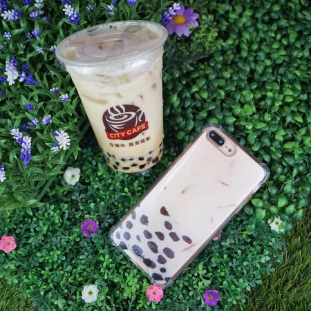 【599免運】台灣品牌 Chiclobe 珍珠奶茶殼 珍奶 手機殼 反重力 四角加厚 防摔  iphone各型號