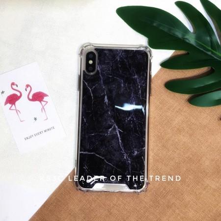 【599免運】Chiclobe奇可 仿真黑色大理石 反重力四角防摔殼 iphone各型號 SE2手機殼