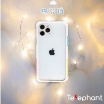 【599免運】iphone 12 pro max 白棉花糖 太樂芬 抗汙 熱門手機殼 軍規防摔殼 含背板