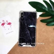 【599免運】Chiclobe 黑色大理石 反重力四角防摔殼 iphone各型號 三星