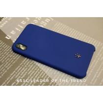 【599免運】瑪莎拉蒂手機殼 先創總代理 海軍藍 硅膠保護殼 IphoneXsmax/XR