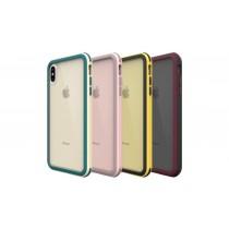 【599免運】SOLiDE維納斯 玩色系列 米白綠 粉紅棕 黑黃 黑紅 軍規防摔殼 IPhone各型號