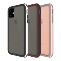 【599免運】SOLiDE玩色系列 白黑 粉紅棕 黑紅 維納斯 手機殼 軍規防摔殼 IPhone11/11pro/11promax