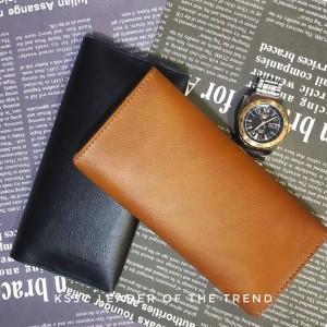 【599免運】加利王 5.5吋內通用手機包 零錢包 側掀 皮革